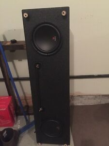 Focal subwoofers 2-10 inch with custom box