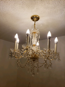 Fashion Classic Vintage Crystal Candle Chandelier