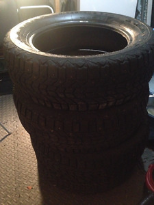 """16"""" Winterforce Studded Tires-$15per or 4 for $50 205/60/R16"""