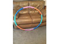 Specialist fitness weighted hula hoop