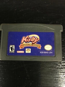 game boy advance games gba $20 each game  - Kirby and the Amazin