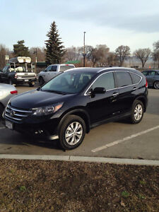 2014 Honda CR-V Touring SUV, Factory Ext. Warranty until 2021