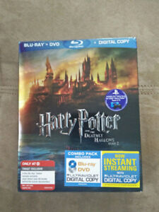 Blu Ray Harry Potter and the Deathly Hallows part2 NEW