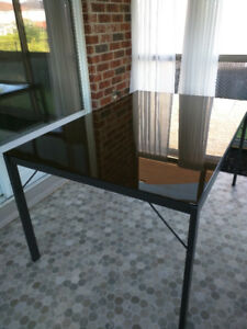 EQ3 Tempered Glass Dining Table