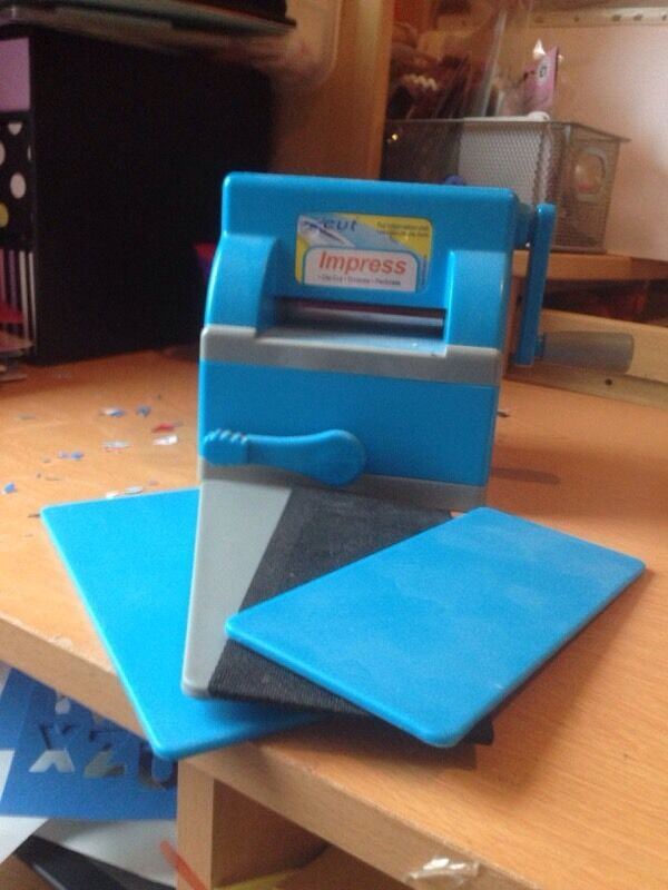 X Cut Impress Personal Die Cutting And Embossing Machine