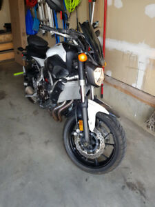 2015 Yamaha FZ07 For Sale Very low Kms
