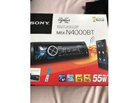 Sony car Bluetooth radio