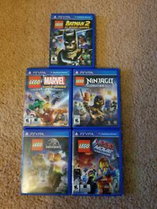 Lego games ps vita