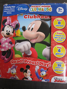 Disney's Mickey Mouse Clubhouse Read,Press,Play, NEW in box Kitchener / Waterloo Kitchener Area image 3