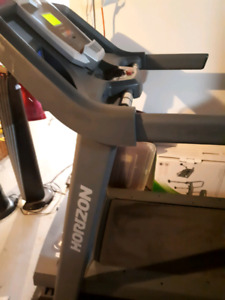 Horizon treadmill pending pick up