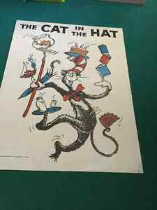 Cat in the Hat Posters Set