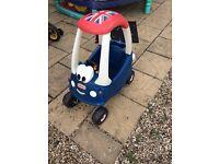 Little tikes Union Jack car