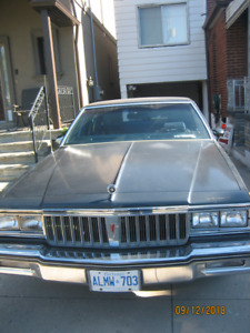 1986 Pontiac Parisienne Antique  obo