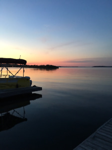 Boat slip for rent in Orillia on lake Couchiching