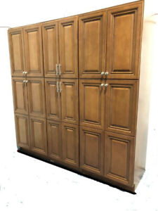 Solid Wood Kitchen Cabinets Clearance sales $95/each box