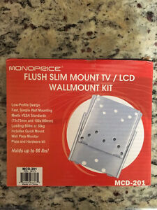 14 x MonoPrice Flush mount kit hold up to 66lbs or best offer West Island Greater Montréal image 1