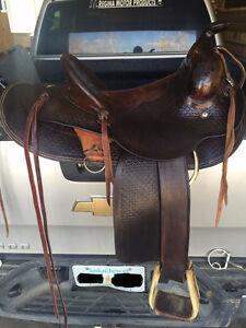 Original Riley McCormick Saddle for sell Regina Regina Area image 1