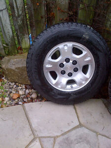 Bridgstone Snow Tires on Chev Truck OEM Rims