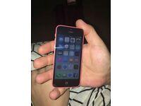 Iphone 5c Pink Unlocked mint