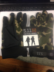 Tactical Airsoft Shooting Hunting Full Finger Gloves