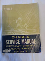 1967 Chassis Service Manual for chevrolets
