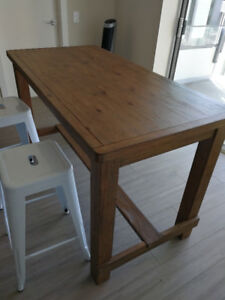 Counter Height Empire Dining Table