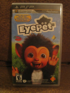"PSP ""EYEPET"" UMD GAME (COMPLETE)[REQUIRES PSP CAMERA:NOT INCL.]"