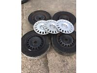 "Vauxhall Astra vectra insignia zafira 15"" inch wheels tyres and rims"
