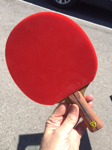 Excellent custom table tennis paddle for sale