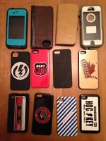 iPhone 5s and 4 cases