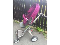 Stokke Xplory V4, excellent condition, with receipt & warranty, sale or swap £450 ono