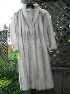 Ladies or Men's Mink Fur Coat is extra large.