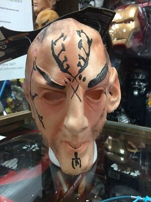 Star Trek Nero Adult Latex Halloween Mask - Captain Kirk Mask Halloween