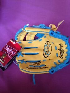 Rawlings kids baseball mitt. Leftie. Age 3-5