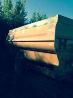 4 auger Kuhn knight mixer wagon (4142 botec)