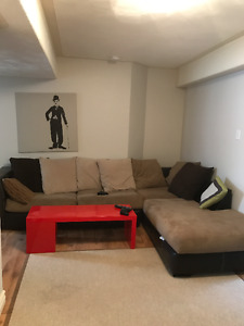 Rooms for rent in shared living space.
