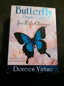 Butterfly tarot cards
