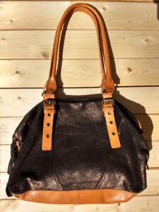 NEW Anthropologie genuine leather/suede shoulder/hand bag