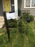Very large indoor/outdoor dog crate 10.00