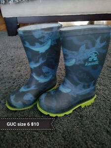 GUC Kamik boots Size 6 (Toddler)