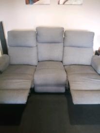 Two peice sofa