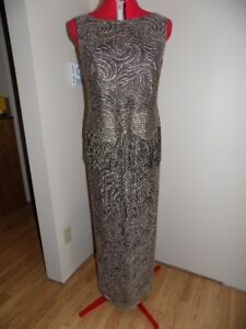 Gold Party Dress Size 12