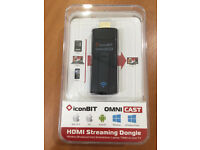 iPhone iconBit OmniCast Apple Android HDMI Wireless Streaming Display Dongle