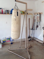 HEAVY BAG & STAND