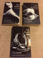 FIFTY SHADES by E L JAMES- 15.00