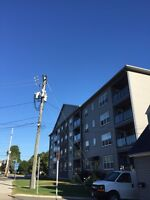 Large two bedroom apartment on corner of Regent and Beaverbrook