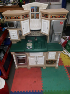 Kids play kitchen