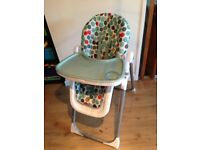 Mamas and Papas spotty highchair