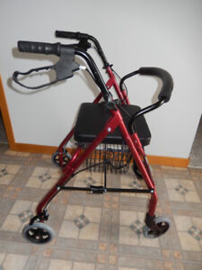 Walker- BIOS - Rollator -as new used only 6 weeks