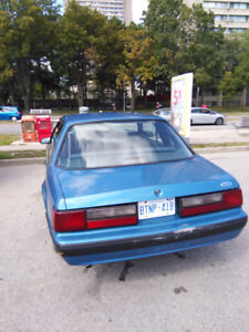 1989 Ford Mustang LX Coupe (2 door)